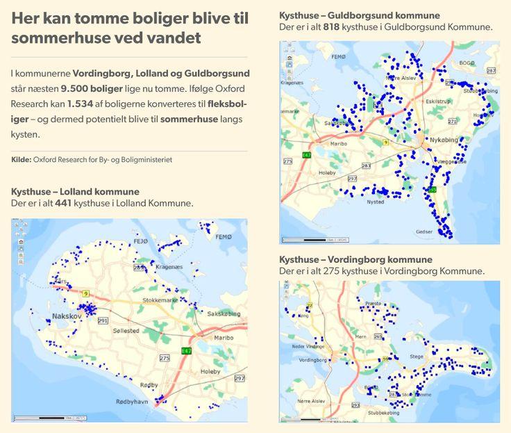 TOMME BOLIGER. Flere tusind landboliger kan blive sommerhuse Over 2.000 helårsboliger i Guldborgsund, Vordingborg og på Lolland kan blive til sommerhuse. Regeringen har gjort det lettere at bruge helårsboliger som sommerhuse, men det går langsomt med at finde købere til fleksboligerne. D. 28. NOV 2014