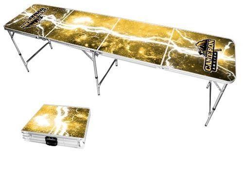 Cameron University Aggies Lightning Bolt Portable Folding Table