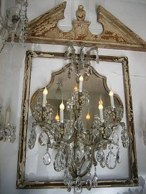 113 best vintage french images on pinterest chandeliers mirrors ticking and toile mozeypictures Gallery
