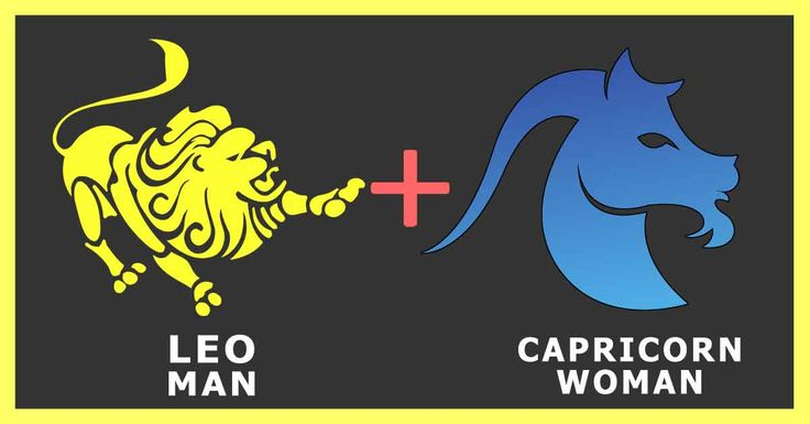 Leo man and Capricorn woman both like to take their time in exploring the other person. They are not among those people who fall in love at the first sight.
