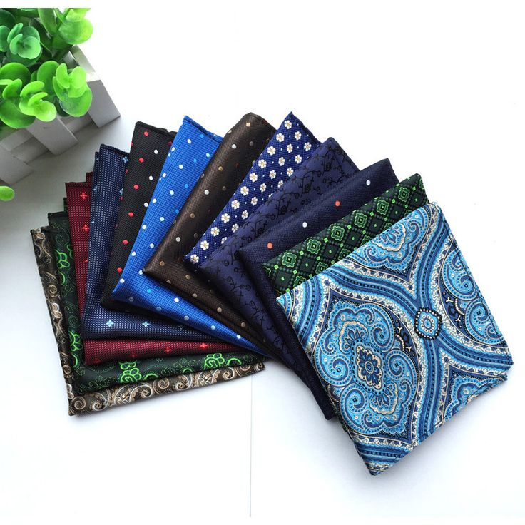 Free Shipping Casual Mens Handkerchief For Wedding Business  Chest Towel Floral Pocket Square Male Handkerchief Towels HHZ001
