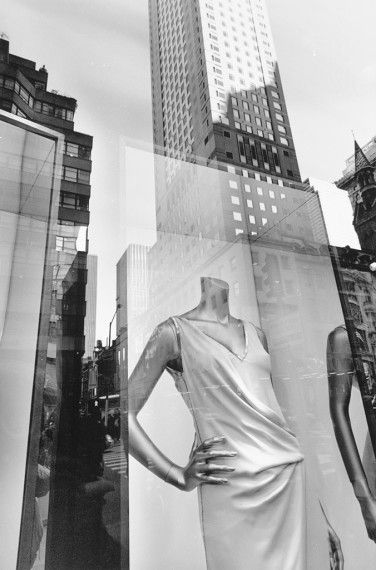 Lee friedlander/ New York City, 2010, gelatin-silver print
