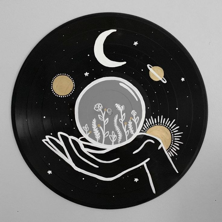 Your Place To Buy And Sell All Things Handmade Vinyl Record Art Vinyl Art Paint Record Wall Art