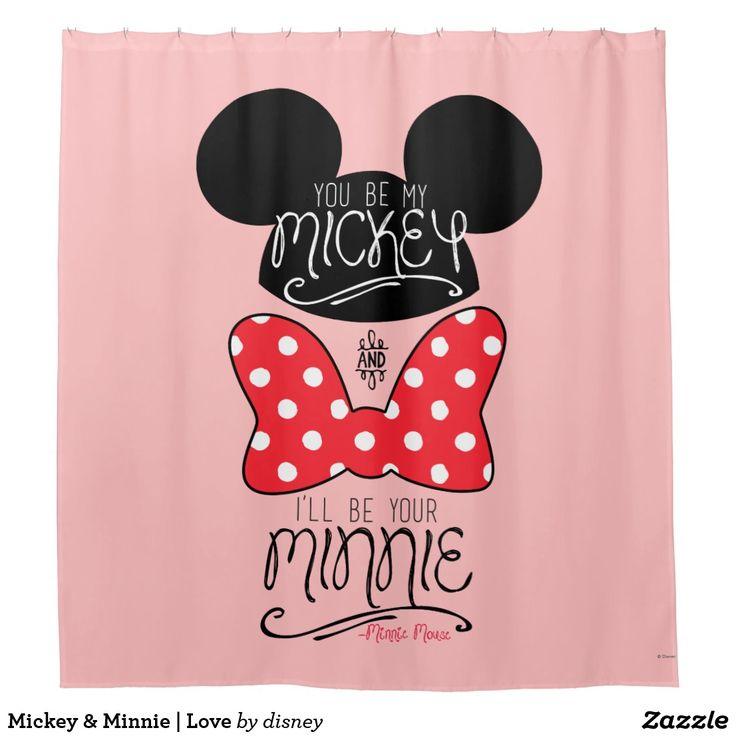 Mickey & Minnie | Love Shower Curtain