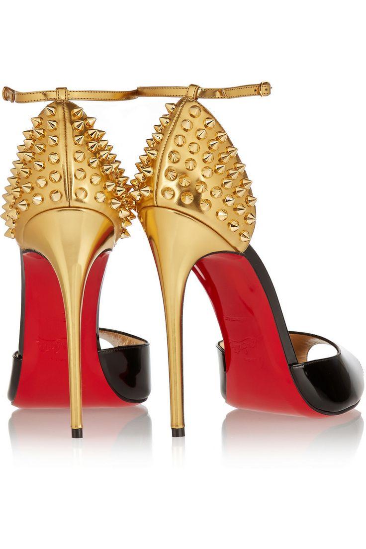 Sandales en cuir cloutées Galeria 100Christian Louboutin wdfi6mE