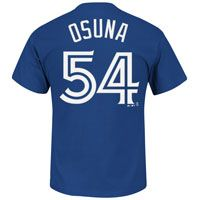 Toronto Blue Jays Roberto Osuna MLB Player Name & Number T-Shirt: The Toronto Blue Jays… #IceHockeyStore #IceHockeyShop #IceHockeyJerseys
