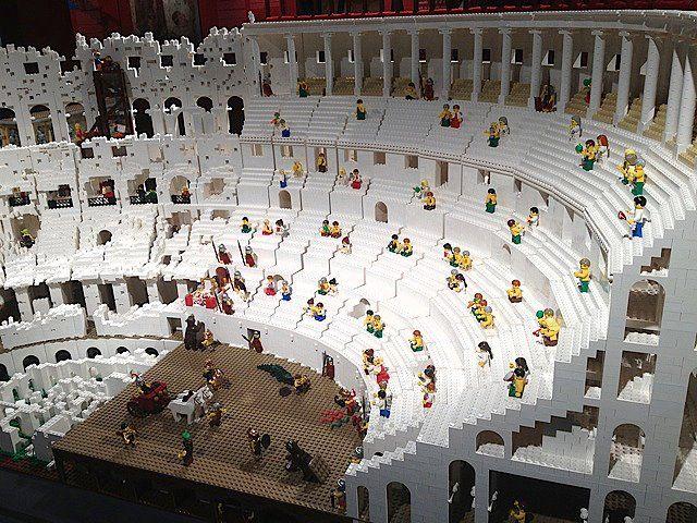 World's First Lego Colosseum Made of 200,000 Bricks - My Modern Metropolis