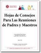 Parent–Teacher Conference Tip Sheets (Hojas de Consejos Para Las Reuniones de Padres y Maestros) / Browse Our Publications / Publications & Resources / HFRP - Harvard Family Research Project