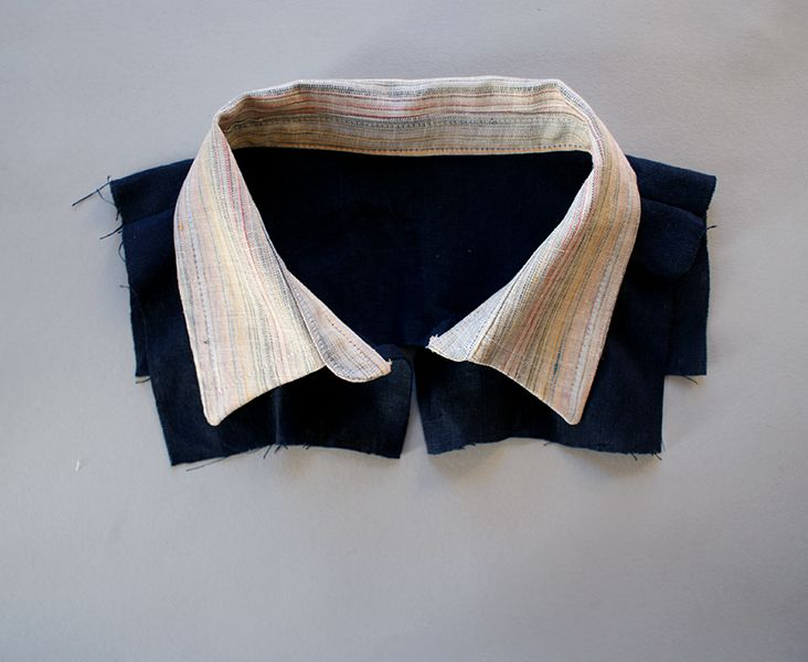 How to sew a Collar. I often avoid garment sewing for fear of collars and non straightlines but this looks easier than the monters I turned it into, in my head.