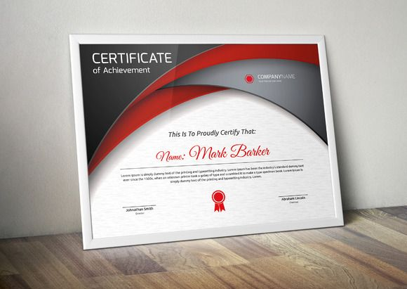 Certificate by ATDesigns on @creativemarket
