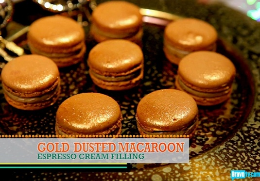 Chef Roble and Co Season 1 - Gold Dusted Macaroons With Espresso Cream Filling