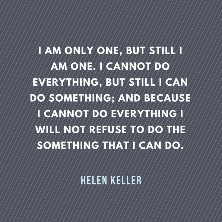 One of the best Helen Keller #quotes