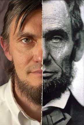 """DNA Related to Abraham Lincoln: """"Meet Ralph C. Lincoln from Johnstown, Pennsylvania, 11th generation Lincoln..."""" """"If Mordecai Lincoln was Ralph's 5th great-grandfather & was Abraham Lincoln's great uncle, then Ralph's 3rd Great-grandfather was Abraham's second cousin. Therefore, Ralph is Abraham's second cousin, five times removed( not his third cousin). There does appear to be a remarkable resemblance between Ralph and Abraham..."""" via Teach Me Genealogy"""