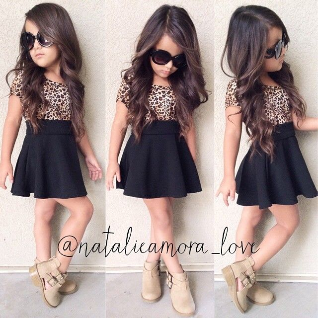 Fashion and style baby girl