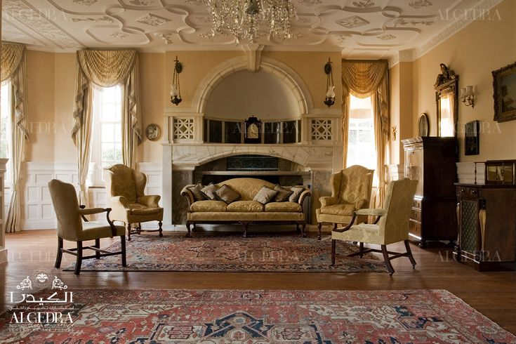 to continue reading classic interior design article, please visit our blog at: http://algedra.ae/en/blog/classic-style-in-interior-design #algedra #design #decor #classic #KSA #Qatar #Dubai