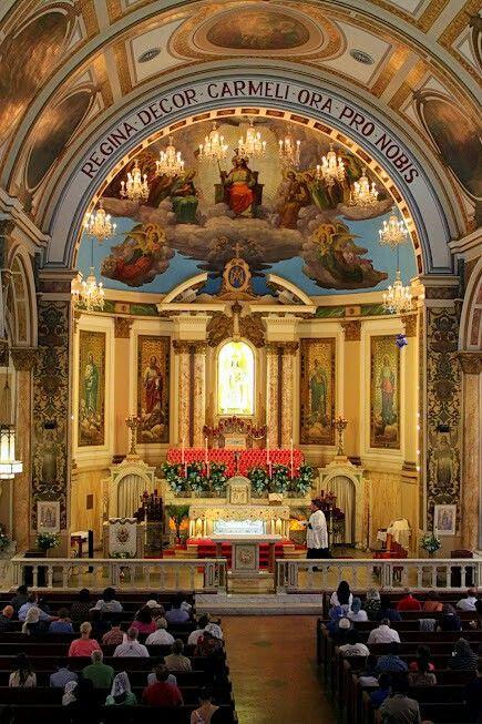 Our Lady of Mount Carmel Pontifical Shrine church, East Harlem, NY.
