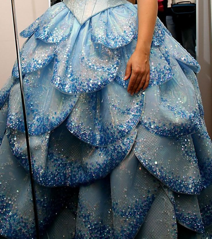Glinda the Good's Bubble Dress... I love the Wicked costumes so much!
