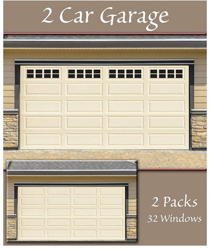 Household Essentials Garage Window Magnets Garage Accents 32 Pack Reviews Cleaning Organization Home Macy S In 2020 Garage Windows Household Essentials Window Magnets