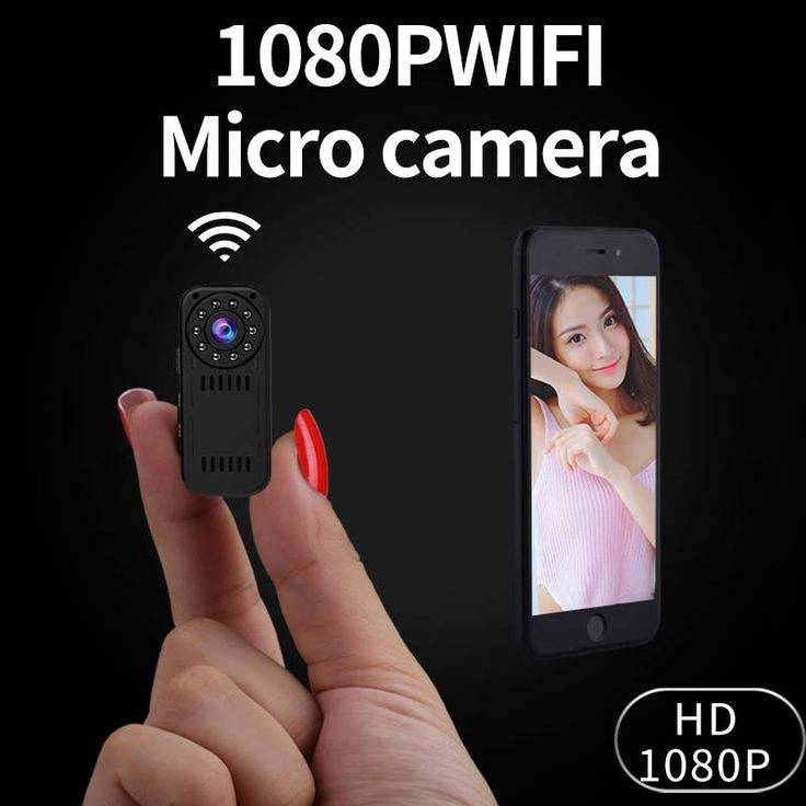 Mini Camcorder P2P Wireless IP Camera Video Recording Wifi Cam 1080P High Resolution Controlled by Smartphone Newest in 2017 //Price: $88.99 & FREE Shipping //   #wirelesscharger