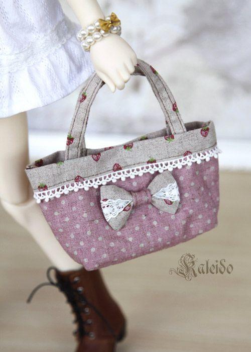 Strawberry bag - bjd
