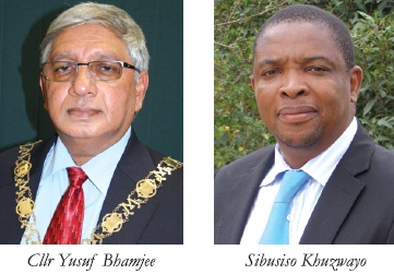 Umgungundlovu Mayor and Municipal Manager