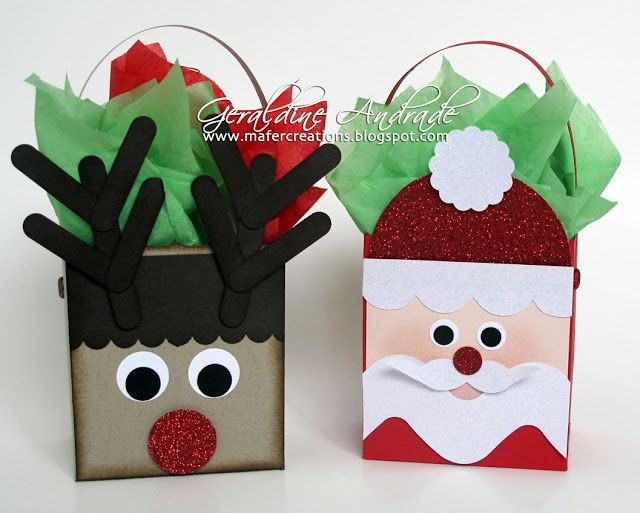 Mafer's Creations: - CHRISTMAS BOXES http://mafercreations.blogspot.com