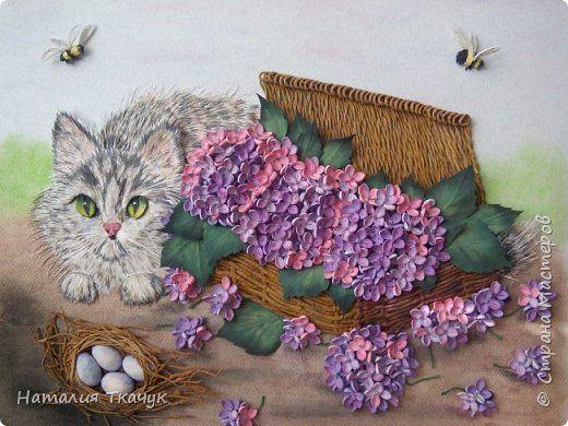 Картина панно рисунок Квиллинг ОСТАНОВИСЬ МГНОВЕНИЕ Бумага Бумажные полосы фото 1