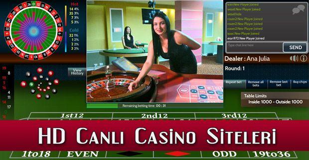 HD Canlı Casino Siteleri