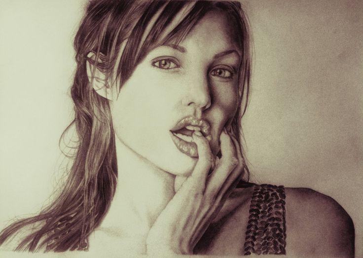 Angelina Jolie by Spizou on DeviantArt
