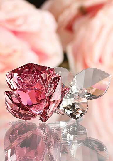 ColorDesire PINK | Rosamaria G Frangini || Swarovski Blossoming Rose, Light Rose