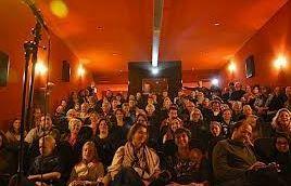 Podium kerstfilm op Vlieland