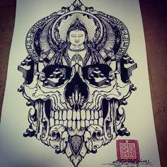 ... Buddha on Pinterest | Buddha tattoos Buddha lotus tattoo and Buddha