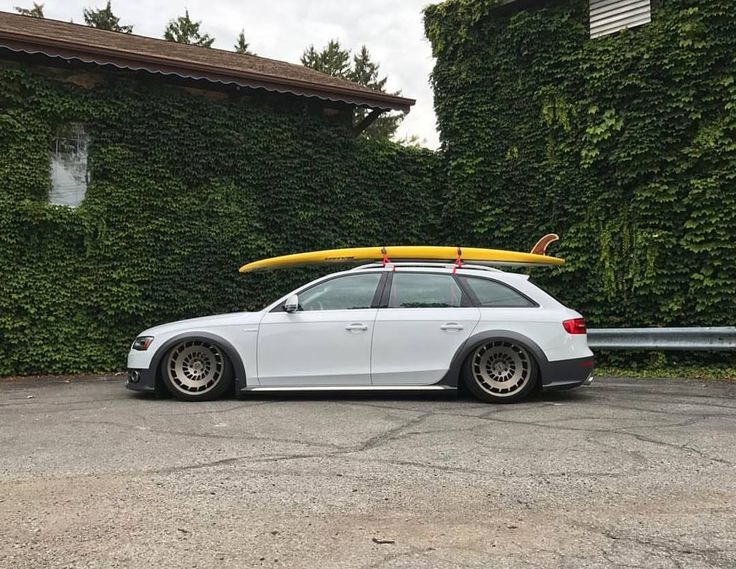 """campallroad: """"Long board, long roof   Owner @feelmygoodies   #campallroad #Audi #allroad #Airlift #quattro #wagoon #wagonsteez #wagonation #Audi_official #audigramm #audiloverr #_audifans_ #fourrings #AudiForLife #perfectstance #audizine #fourtitude..."""