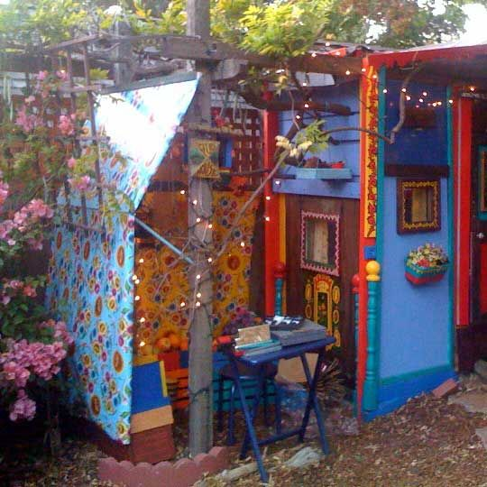 colorful playhouse