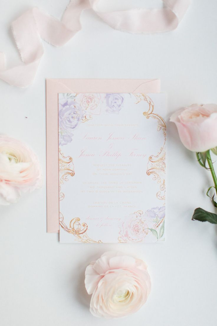lotus flower wedding invitations%0A Looking for the Perfect Shade of Pink Paint  We found it