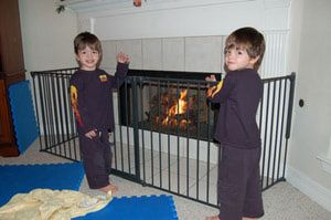 Childproofing Your Home: Fireplace Gate