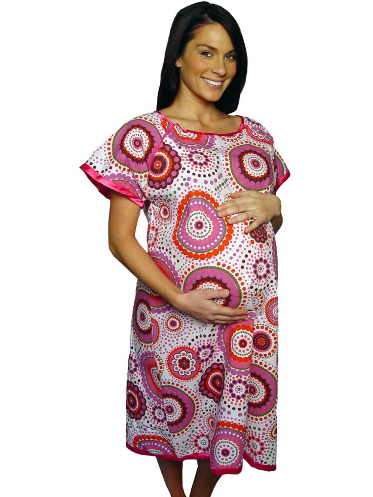 Magnificent Designer Maternity Hospital Gown Motif - Top Wedding ...