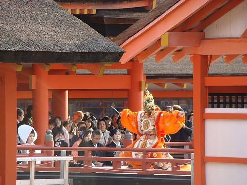 Court Dance at Itsukushima Shrine on Miyajima