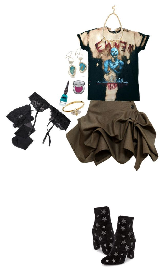"""""""."""" by applecocaine ❤ liked on Polyvore featuring Kelly Ewing, Steve Madden, Zimmermann, Urban Decay and Reger by Janet Reger"""