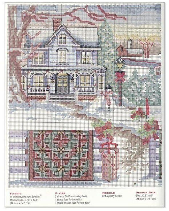 Gallery.ru / Фото #40 - 163 Quilts Cross Stitch - joobee