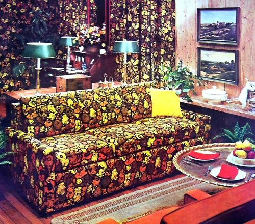 1960s Tacky living room