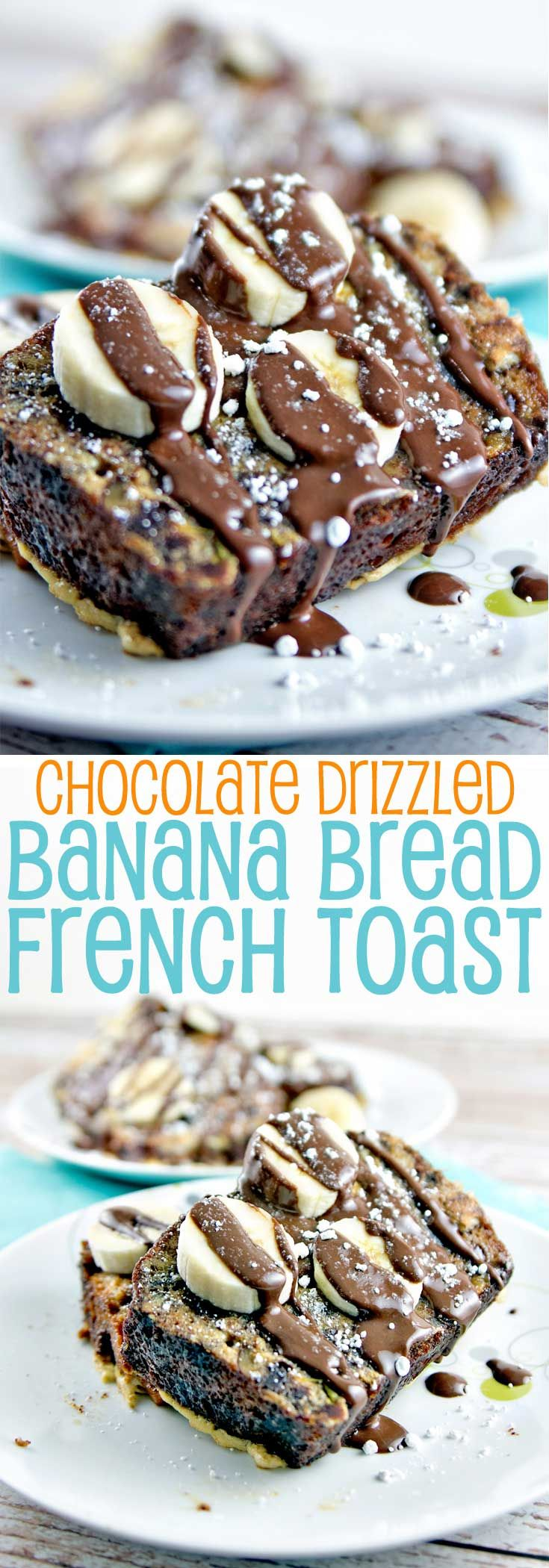 Banana Bread French Toast: an indulgent and decadent breakfast, worthy of a special occasion... or any day. {Bunsen Burner Bakery}