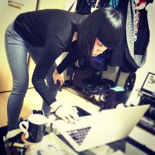 じじい!!!笑 12/3 MILLENNIUM JAPANにてWS!!!!!! 真剣に振り作り中のAya先生 みなさんご予約はお早めに♥︎ http://millenniumjapan.com/workshop/aya_sato_workshop