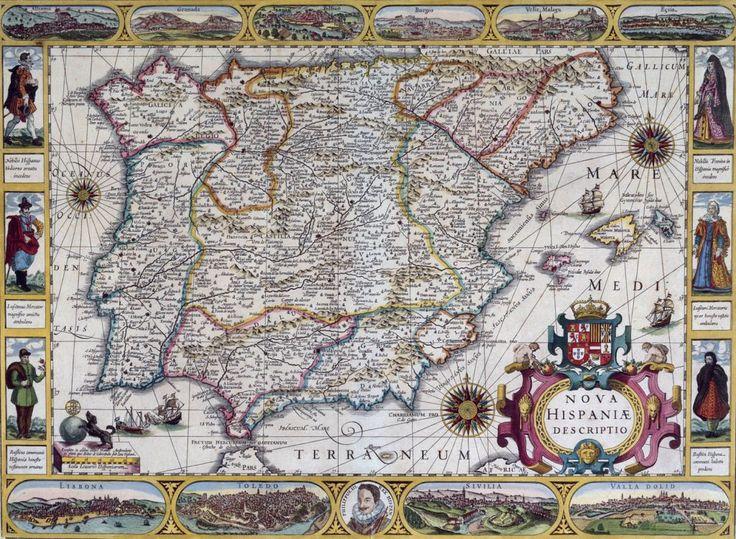 La historia de España vista a través de 12 mapas | Geografía Infinita