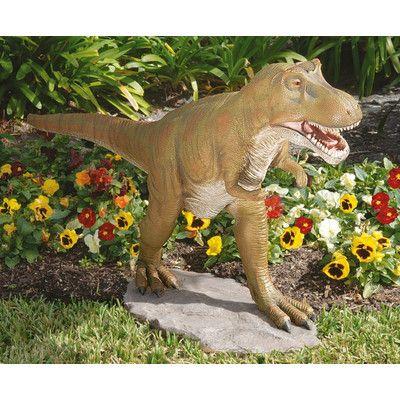 Design Toscano T Rex Dinosaur Garden Statue