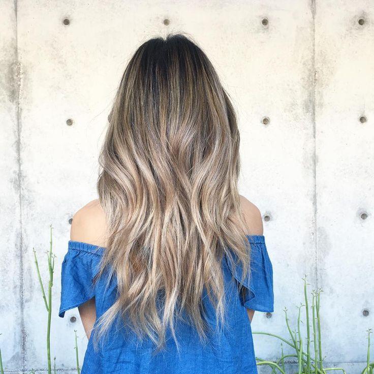 Balayage Korean Hair