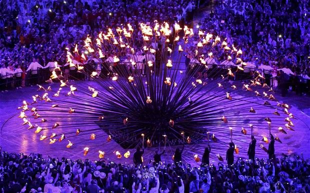 Brilliant idea and it shows how we all compete together and how we are globally all linked. Google Image Result for http://i.telegraph.co.uk/multimedia/archive/02291/OLYMPIC-CAULDRON_2291290b.jpg