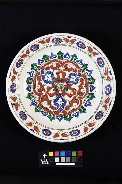 Plate Place of origin: Iznik, Turkey (probably, made) Date: 1570-1590 (made)