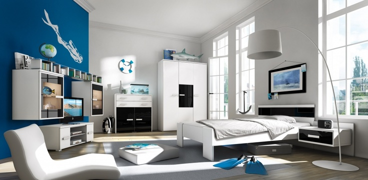 24 best images about moderne jeugdkamers on pinterest kid tes and graphics. Black Bedroom Furniture Sets. Home Design Ideas