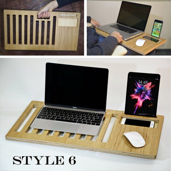 Custom Order Personalized Mothers Day Gift Lap Desk Wood Laptop Stand Laptop Desk Laptop Tray Lapdesk Laptop Holder S In 2020 Laptop Stand Diy Laptop Stand Laptop Desk